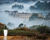 Chatsworth In The Mist wallpaper mural kitchen preview