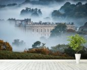 Chatsworth In The Mist wallpaper mural in-room view