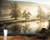 Chatsworth Misty River wall mural kitchen preview