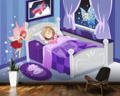 Tooth Fairy mural wallpaper kitchen preview