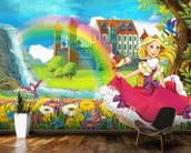 Beautiful Princess wall mural kitchen preview