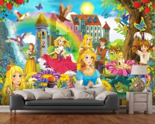 The Fairy Tales wallpaper mural