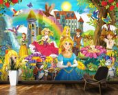 The Fairy Tales wallpaper mural kitchen preview