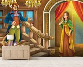 Beauty and the Beast wall mural living room preview
