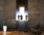 Walking into the Light wall mural kitchen preview