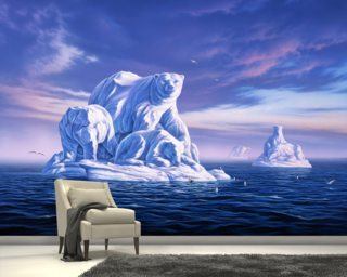 Icebeargs Wallpaper Mural Wall Murals Wallpaper
