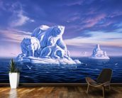 Icebeargs wall mural kitchen preview