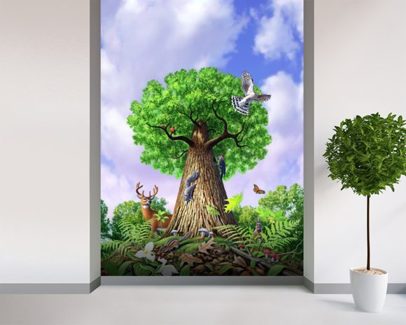 tree of life wall mural amp tree of life wallpaper
