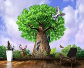 Tree of Life wallpaper mural kitchen preview