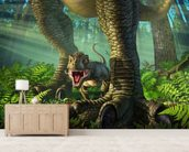 Wee Rex wall mural living room preview