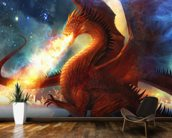 Lord of the Celestial Dragons wall mural kitchen preview
