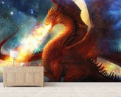 Lord of the Celestial Dragons wall mural living room preview