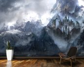 Dragonstone mural wallpaper kitchen preview