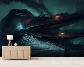 Crash Site wall mural living room preview