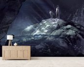 Gloomy Cave wallpaper mural living room preview
