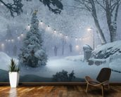 Winter Recon mural wallpaper kitchen preview