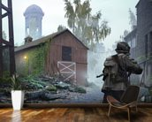 Snipers Nest mural wallpaper kitchen preview