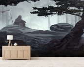 Cold Morning wallpaper mural living room preview