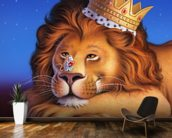 Lion King wallpaper mural kitchen preview