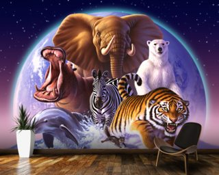 Mammals Wallpaper Mural Wall Murals Wallpaper