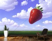 Strawberry wall mural kitchen preview