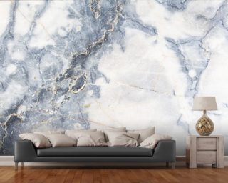 White Marble Wall Mural Wallpaper Wall Murals