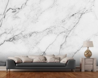 Black and White Marble wall mural