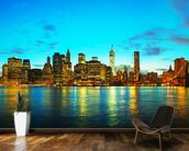 New York Cityscape at Sunset wall mural kitchen preview