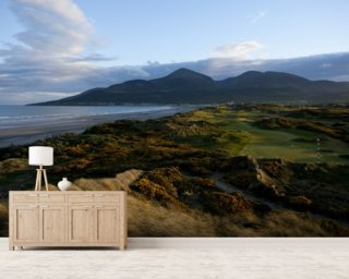 Royal County Down, Ireland wall mural
