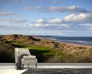 Trump International Golf Links, Scotland mural wallpaper