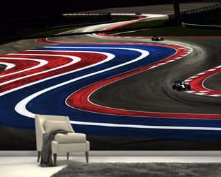 Turn 2,3,4 And 5 USA 2014 Wallpaper Mural Part 62