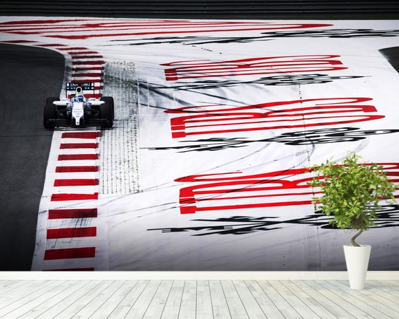 Felipe Massa Austria 2014 wallpaper mural room setting