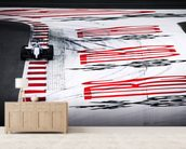 Felipe Massa Austria 2014 wallpaper mural living room preview