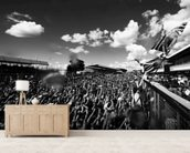 Lewis Hamilton Britain 2014 wall mural living room preview