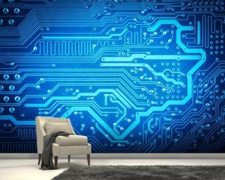 ICT And Computer Science Wallpaper Murals