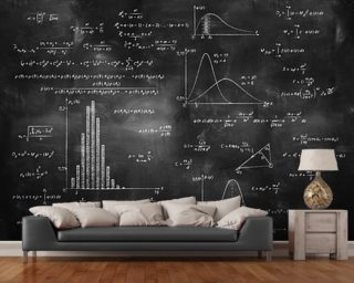 Maths Wall Murals Amp Wallpaper Wallsauce Australia