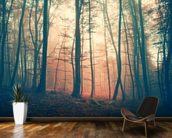 Mystic Forest wallpaper mural kitchen preview