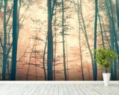 Mystic Forest wallpaper mural in-room view