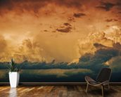 Stormy Horizon wallpaper mural kitchen preview