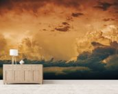Stormy Horizon wallpaper mural living room preview