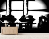 Williams Wheel Nuts Austria 2014 wallpaper mural living room preview