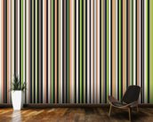 Twisted Pixels Stripes mural wallpaper kitchen preview