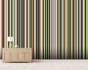 Twisted Pixels Stripes mural wallpaper living room preview
