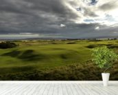 Royal Dornoch wallpaper mural in-room view