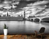 Westminster Bridge London wall mural kitchen preview