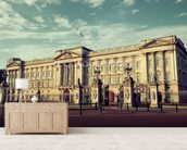 Buckingham Palace mural wallpaper living room preview