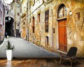 Village Street, Tuscany wall mural kitchen preview