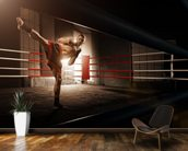 Kick Boxing wall mural kitchen preview