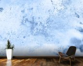 Blue Watercolor wallpaper mural kitchen preview