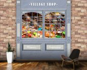 Village Shop wall mural kitchen preview